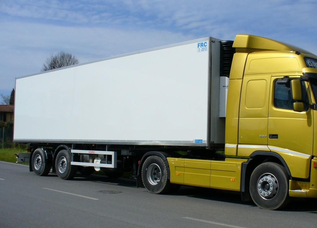Cold storage on semi trailer