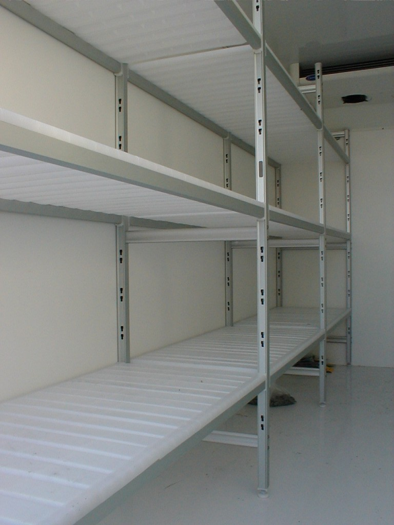 Shelves in PVC